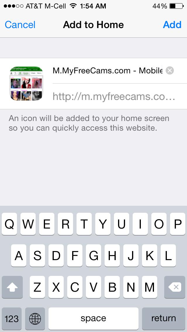 myfreecams com mobile